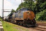 CSX 3456 leads Q404